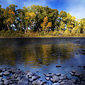 Early Fall At The Headwaters Of The Rio Grande by Ellen Heaverlo