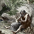 Early Human Making Pottery by Sheila Terry