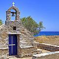 east coast Naxos Print by Joana Kruse