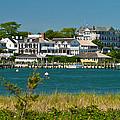 Edgartown Harbor Marthas Vineyard Massachusetts by Michelle Wiarda