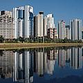 Edifícios Na Marginal Pinheiros (são Paulo) by Photo Antonio Larghi (Fotografia)