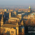 Edinburgh On A Winter's Day by Christine Till