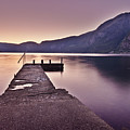 Eidfjord At Sunset by Jesus Villalba