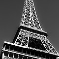 Eiffel Tower Vegas Style by Leslie Leda