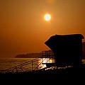 El Capitan Beach Sunset by Joshua Benk