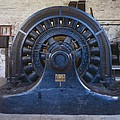 Electric Generator In The Folsom by Everett