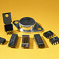 Electronic Circuit Board Components by Andrew Lambert Photography