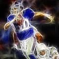 Eli Manning Quarterback by Paul Ward