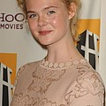 Elle Fanning At Arrivals For 15th by Everett