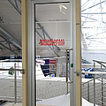 Emergency Exit At An Airport by Jaak Nilson