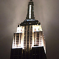 Empire State In The Fog by Kelsey Horne
