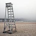 Empty Lifeguard Chair by Skip Nall