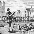 ENGLAND: BEHEADING, 1554 Print by Granger