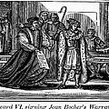ENGLAND: MARTYR, 1550 Print by Granger