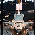 Enterprise Space Shuttle Print by Renee Holder