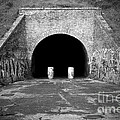 Entrance of a tunnel