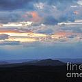 Evening Sky Over The Quabbin by Randi Shenkman