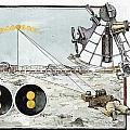 Explorer Robert E. Peary Uses The Sun by Richard Schlecht