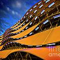 Fancy Cardiff Carpark Facade by Meirion Matthias