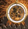 Fancy Pocketwatch On Gears by Garry Gay