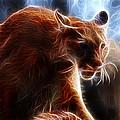 Fantasy Cougar by Paul Ward