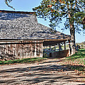 Farm Scene At Booker T. Washington National Monument Park by James Woody