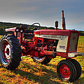 Farmall Tractor In The Sunlight by Andrew Pacheco