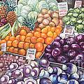 Farmers Market by Nancy Pahl