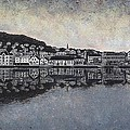 Farsund Waterfront by Janet King