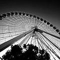 Ferris Wheel Print by Leslie Leda
