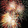 Fireworks 1569 Print by Michael Peychich