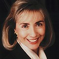 First Lady Hillary Clinton In A 1992 by Everett