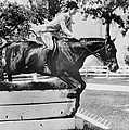 First Lady Jacqueline Kennedy, Riding by Everett