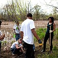 First Lady Michelle Obama Helps Plant by Everett