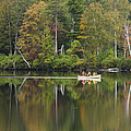 Fish Creek Pond In Adirondack Park - New York by Brendan Reals