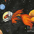 Fish In Space by Nora Blansett