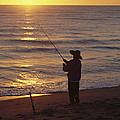 Fishing At Sunrise by Raymond Gehman