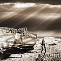 Fishing Boat Graveyard 9 by Meirion Matthias