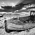 Fishing Boat Graveyard by Meirion Matthias