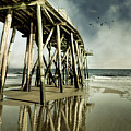 Fishing Shack Pier by Jody Trappe Photography
