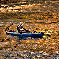 Fishing The Golden Hour by Steven Richardson