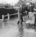 Flooding At Twyford by Reg Speller