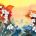 Floral Neklace by Anil Nene
