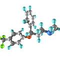 Fluoxetine Drug Molecule by Laguna Design