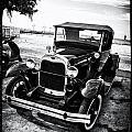 Ford Model T Film Noir by Bill Cannon