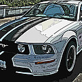 Ford Mustang Gt No. 2 by Samuel Sheats