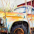 Forgotten Truck by Scott Nelson