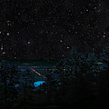 Fort Collins Colorado At Night by Ric Soulen