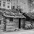 fort nashborough stockade recreation Nashville Tennessee USA by Joe Fox