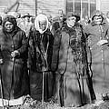 Four Elderly African American Women by Everett